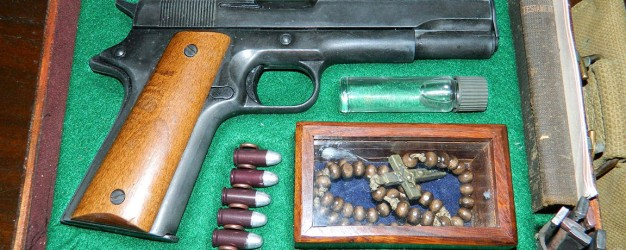 colt 45 auto in vampire killing kit